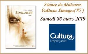 Séance de dédicaces Semblables - Cultura Limoges (87)